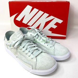 Nike Blazer Low Decon Ghost Aqua Suede Women's